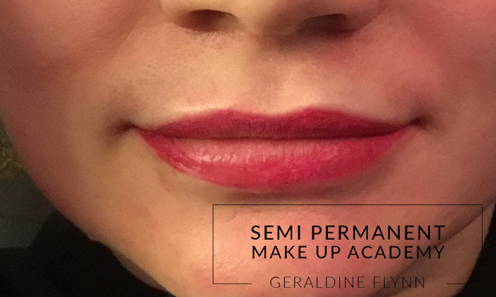 Semi Permanent lips after