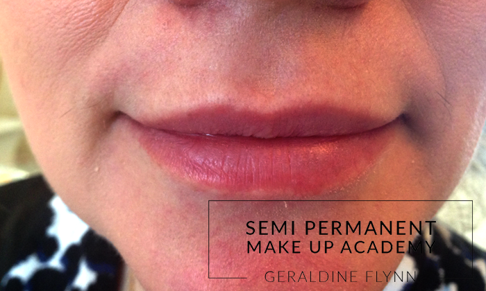 Semi Permanent lips before